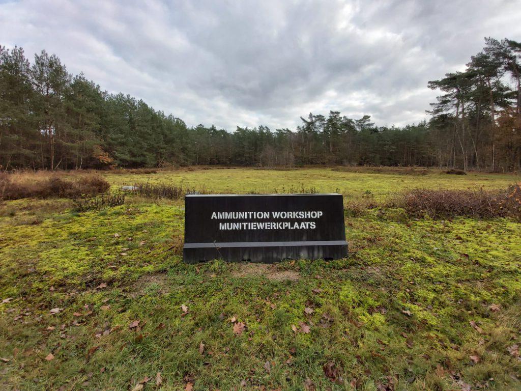 Wandeling munitiepark over de oorlogen in Nederland