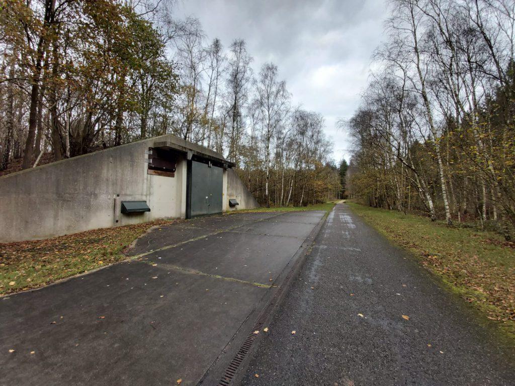 Munitiedepot wandeling munitiepark